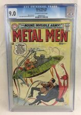 METAL MEN #3 CGC 9.0 OWW pages - Moon's Invisible Army