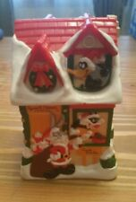 Cute 1997 Warner Bros Russell Stover Candy Kitchen Christmas Piggy Bank