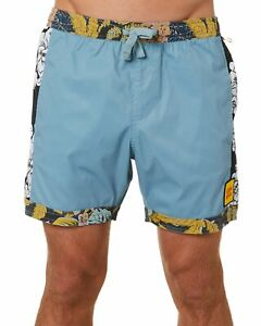 The Critical Slide Society Mixed Tapes Boardshort Mens in Coconut
