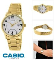 Reloj Analogico CASIO LTP-V002G-7B - Correa De Acero - Reloj Cuarzo Para Mujer