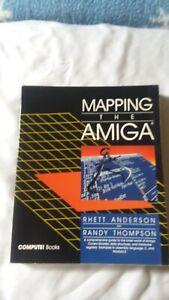 Mapping The Amiga Compute Books Commodore Anderson & Thompson