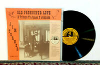 Jim Turner, Old Fashioned Love, A Tribute To James P. Johnson LP 1981 JAZZ - NM