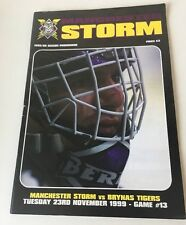 Manchester Storm v Brynas Tigers - 23/11/99 - Game 13 - Ice Hockey