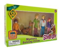 Scooby Doo Mystery Solving Crew 5 articulated poseable figures playset 3+