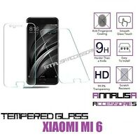 PELLICOLA IN VETRO TEMPERATO PER XIAOMI Mi 6 Mi6 TEMPERED GLASS SCREEN PROTECTOR