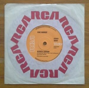 (KING HARVEST- Wichita Lineman/ Summer in the City)-Leo de Castro-FREE POST-G8-7