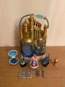 Disney Store Little Mermaid Littles Mini Animator Micro House Playset
