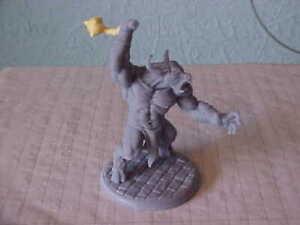 Minotaur 1/32, 2 Inch Resin figure, Unknown maker Excellent condition