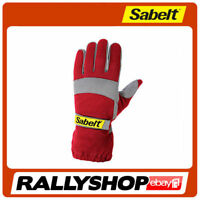 Sabelt Eco Kart Gloves, size 12 RED FREE DELIVERY WORLDWIDE (Kart, Race, Rally)