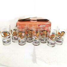 Full Set Of 8 Dairy Queen Portland Trail Blazers Glasses 1993-94 93 1994 Porter