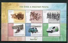 Hongrie 2017 neuf sans charnière MAGYAR POSTA 150 ans 6 V M/S Voitures Motocyclettes Bicyclettes timbres
