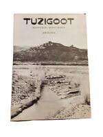 Tuzigoot National Monument Arizona 1958 Travel Brochure Pamphlet Literature VTG