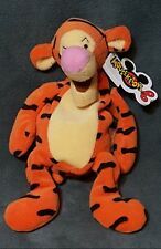"9"" Tigger Mini Bean Bag Plush Disney Toy Tiger Mouseketoys Pooh's Friend Orange"