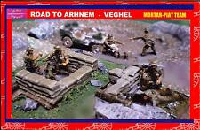 BUM Models 1/72 THE ROAD TO ARNHEM MORTAR PIAT TEAM with DIORAMA Figure Set