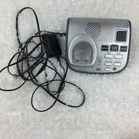 GE Base Only 6.0 DECT Answering Machine With Wires For Cordless Phone No Phone