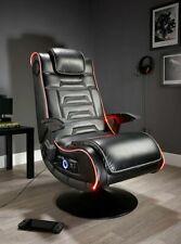X Rocker New Evo Pro Gaming Chair LED Edge Lighting Optical USB