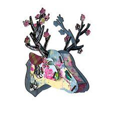 Miho Testa Cervo Mini-è una gemma-Muro da Appendere-idea regalo unico-Compleanno