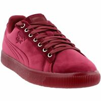 Puma Clyde Velour Ice Sneakers - Red - Mens