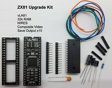 Sinclair ZX81 Upgrade Kit, 32k RAM Intern, Hires, Composite, Speicherton, vLA81.