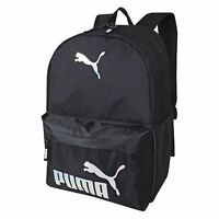 """Puma 19"""" Backpack - Black - New Tech Style Iridescent - NEW with Tags"""