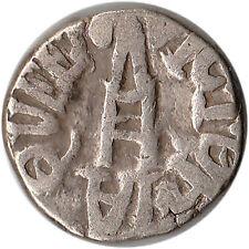 1893 (VS1950) India - Bundi 1 Rupee Silver Coin Queen Victoria Y#9