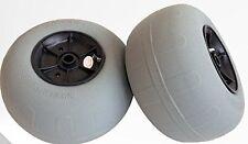 """12.5"""" Balloon Wheels, Beach Wheels, Sand Wheels, Pair, AND Cinch-Lock Pro leash"""