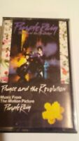 PRINCE AND THE REVOLUTION Purple Rain Soundtrack Cassette Tape Vintage