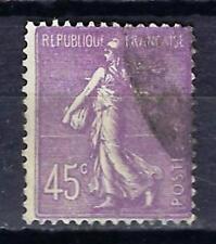 France 1924 type semeuse lignée (3) Yvert n° 197 oblitéré 1er choix