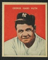LOT of 25 REPRINT 1932 #32 US Caramel BABE RUTH New York Yankees