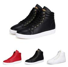 Mens High Top Casual Sport Running Breathable Walking Athletic Sneakers Shoes Sz
