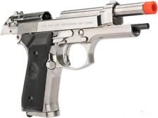 B&W green gas blowback M9 Beretta full metal airsoft pistol full size gun gbb