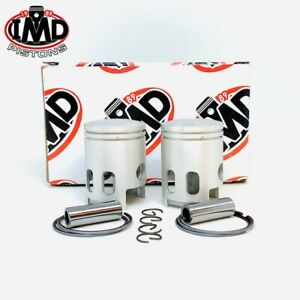 Yamaha RD125 Double RD125DX Piston Kits (2) + 0.5MM