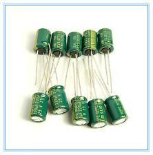 (10pcs) 220uf 25v Sanyo Electrolytic Capacitor 25v220uf Wg Low Esr Sanyo Wg