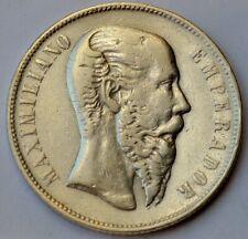 Mexico Reich Von Maximilian, Maximiliano I, 1866 MO 50 Centavos, Silber Krone