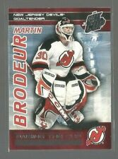 2003-04 Pacific Quest for the Cup Raising the Cup #12 Martin Brodeur (ref 62542)