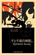"Hayao Miyazaki Cute Japan Anime Movie 14/""x19/"" Poster 036 Spirited Away"
