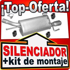 Silenciador Trasero OPEL CORSA C / TIGRA TWINTOP 1.2 1.4 1.8 desde 2000 KLD