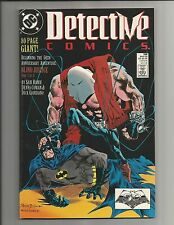 DETECTIVE COMICS #598 VF/NM  80 PAGE GIANT  COPPER AGE  COMIC 1989