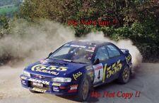 Colin McRae SUBARU IMPREZA 555 SAN REMO RALLY 1994 fotografia 5