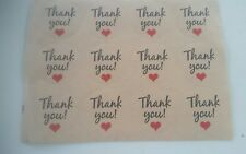 24 thank you stickers Kids Craft Party Favors Loot Bags