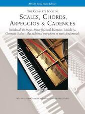 Scales, Chords, Arpeggios and Cadences : Complete Book by Willard A. Palmer, Mo…