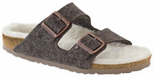 Birkenstock Kid's Arizona Wool Felt Cacao Happy Lamb Clogs Size 26 US 8 Narrow