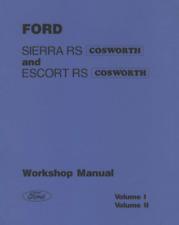 Manual Taller Ford Sierra y Escort Cosworth. Workshop Inglés En CD