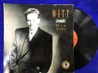 Joachim Witt LP Vinyl Mad News & Cry Baby Cry 45 RPM 1987 Germany Maxi Single