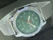 VINTAGE UNUSED ARABIC SEIKO 5 AUTOMATIC JAPAN MEN'S D/D WATCH 450d-a225760-1
