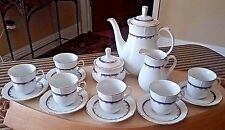 Elegant Fine China Tea Set THUN Czechoslovakia~Demitasse~Natalie Pattern~17 pcs.