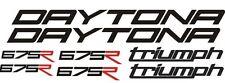 Kit Adesivi Triumph Daytona 675R Stickers Vari colori disponibili
