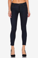 BLACK ORCHID Amber MidRise Ankle Zipper Skinny Denim Jeans Midnight Blue 26 #328