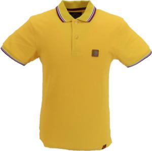 Trojan Records Mustard Yellow Badged Classic Retro Polo Shirt