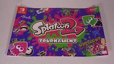 Splatoon 2 Tournament Nintendo Store New York NY Poster Promo Exclusive